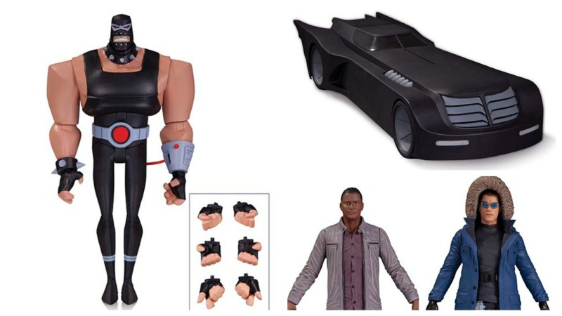 DC Collectibles October 2015 Solicits - Batman the Animated Series, Arrow, and The Flash