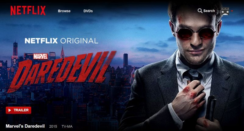 Marvel's Daredevil - a Netflix original series