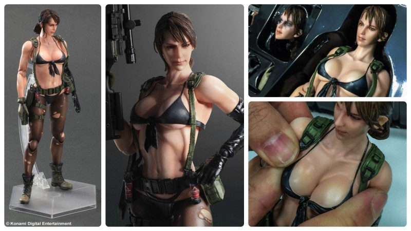 Soft Breasts on Play Arts Kai Quiet Set off Twitter Storm