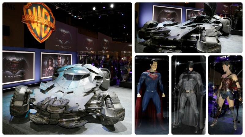 Batman v Superman Dawn of Justice Batmobile and Costumes