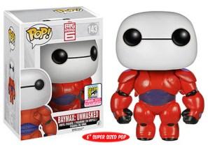 Pop! Disney Big Hero 6 - 6 Baymax Unmasked