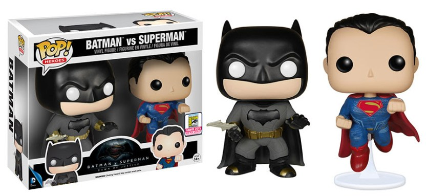 Pop! Heroes Batman v Superman - Batman v Superman 2-pack