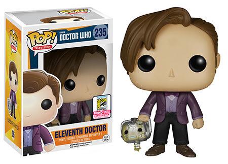 Pop! TV Doctor Who - Eleventh Doctor holding Cyberman Head