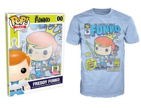 Pop! Tees SDCC Freddy Funko