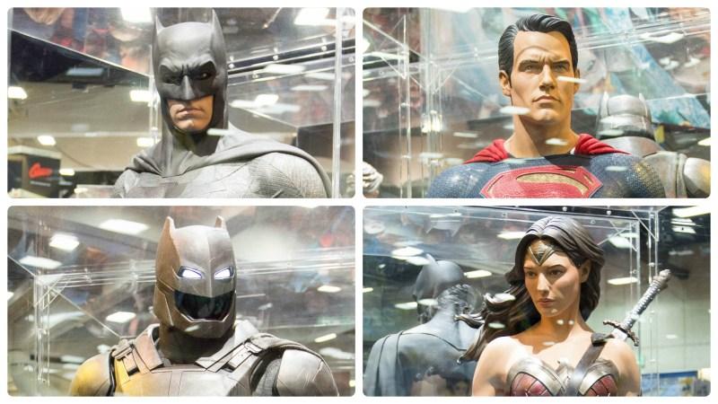 SDCC 2015 DC Comics Batman v Superman Costumes