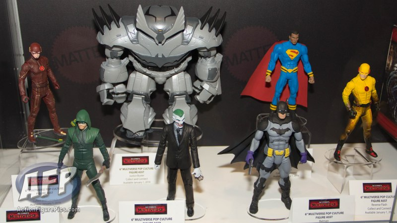 SDCC 2015 Mattel DC Multiverse Justice Buster Collect and Connect Wave (1 of 9)