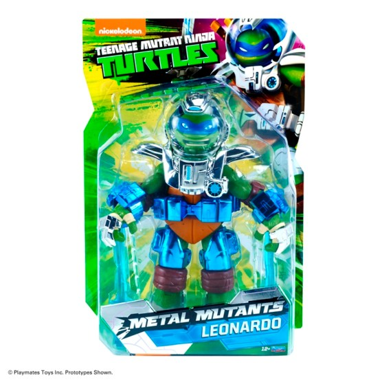 SDCC 2015 Playmates Teenage Mutant Ninja Turtles Metal Mutants Leonardo 1
