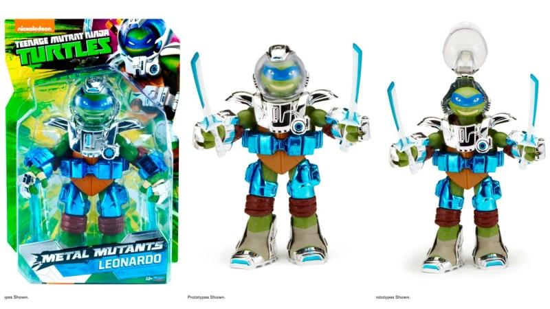 SDCC 2015 Playmates Teenage Mutant Ninja Turtles Metal Mutants Leonardo