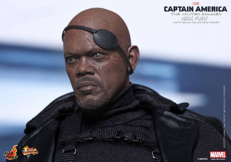 Hot Toys Captain America The Winter Soldier Nick Fury 01