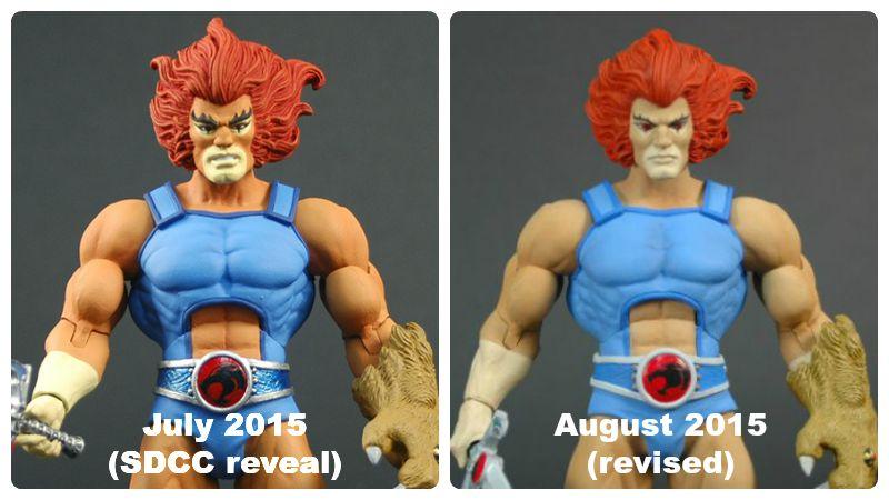 Mattel Thundercats Lion-O 0815 revision