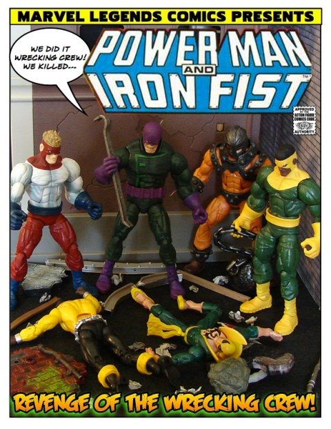 Power Man and Iron Fist - Revenge of the Wrecking Crew