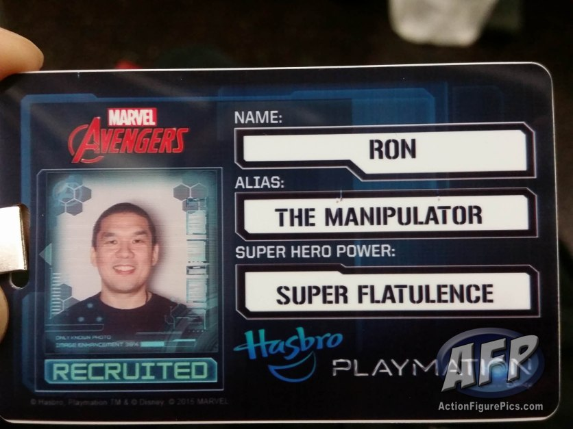 NYCC 2015 - Avengers ID card - the Manipulator