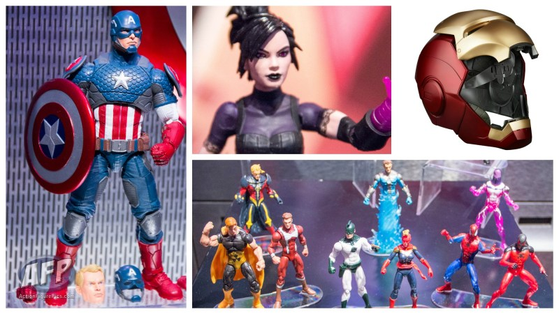 Toy Fair 2016 - Hasbro Marvel Legends Report