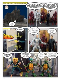 Daredevil - Gangsters and Ninjas and Turtles Oh My - page 23