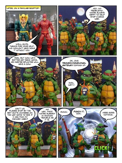 Daredevil - Gangsters and Ninjas and Turtles Oh My - page 34