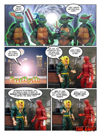 Daredevil - Gangsters and Ninjas and Turtles Oh My - page 35