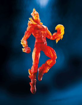MARVEL LEGENDS SERIES 6-INCH Walgreens Exc - Human Torch