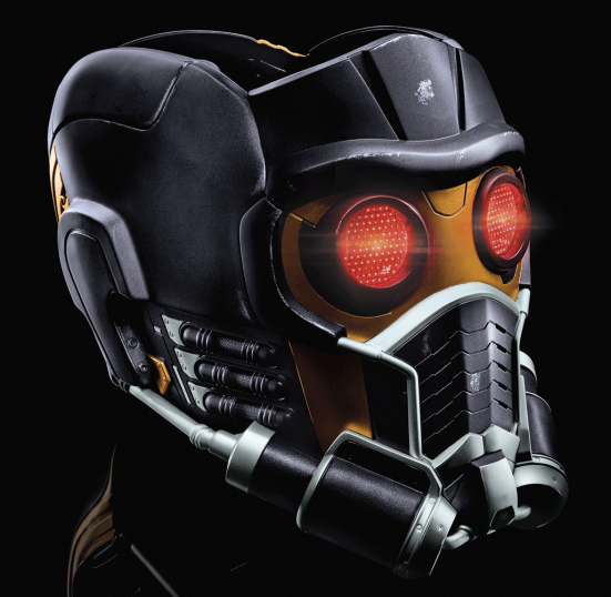 MARVEL LEGENDS SERIES GUARDIANS OF THE GALAXY STAR-LORD ELECTRONIC HELMET - 1