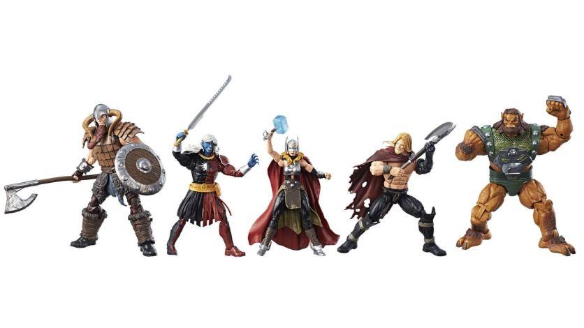 SDCC 2017 Marvel Legends Battle for Asgard Thor Box Set 4