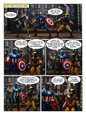 Wolverine, Captain America, and Black Widow - Let's Get Bruce - page 07