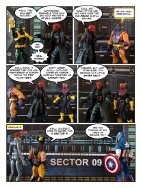 Wolverine, Captain America, and Black Widow - Let's Get Bruce - page 11