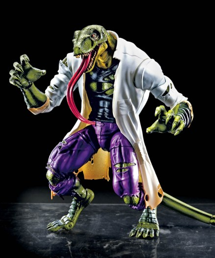 Marvel Spider-Man Legends Series 6-inch Lizard (Build-A-Figure)