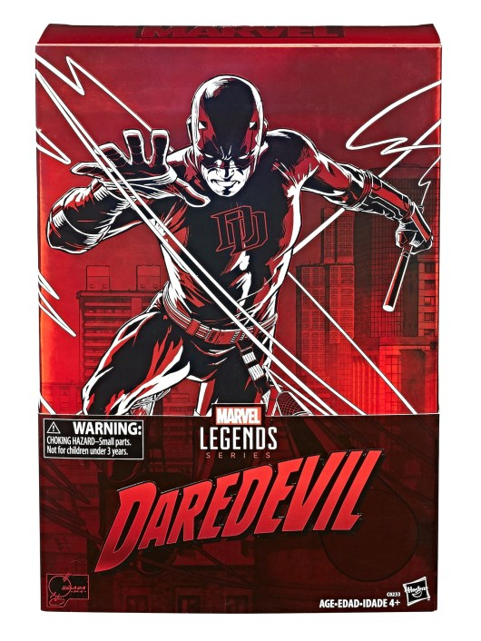 Marvel Legends Series 12-Inch Daredevil Figure - pkg