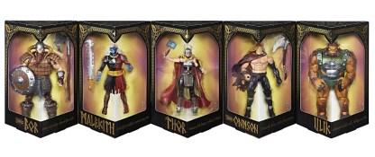Marvel Legends Series Battle For Asgard 5-Pack - in pkg