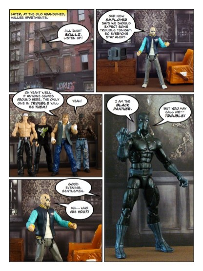 Daredevil - The Wakanda Conspiracy - page 14