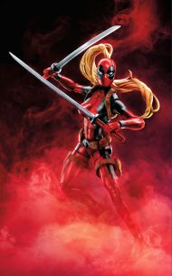 Deadpool 6 Inch Legends W2 - Lady Deadpool