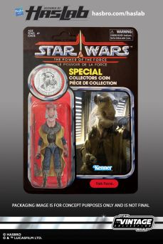 Jabbas Sail Barge Exclusive - Yakface Power of the Force