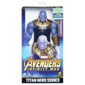MARVEL AVENGERS INFINITY WAR TITAN HERO 12-INCH DELUXE Figures (Thanos) - in pkg