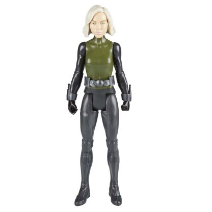 MARVEL AVENGERS INFINITY WAR TITAN HERO 12-INCH Figures (Black Widow) - oop