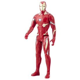 MARVEL AVENGERS INFINITY WAR TITAN HERO 12-INCH Figures (Iron Man) - oop