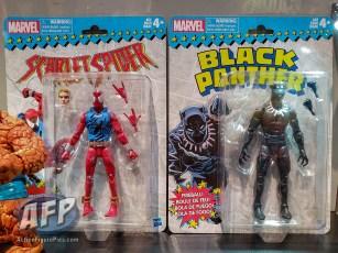 Marvel Legends Vintage Scarlet Spider and Black Panther