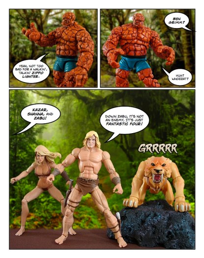 Fantastic Four - Thanksgiving Special - page 14