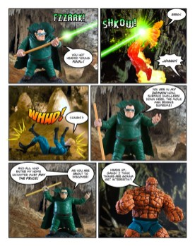 Fantastic Four - Thanksgiving Special - page 19