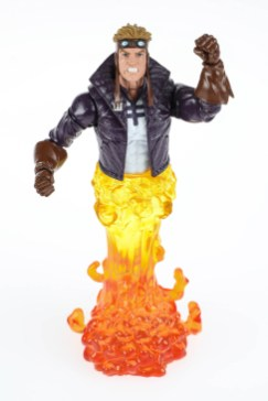 Marvel X-Force Legends Series Cannonball Figure oop