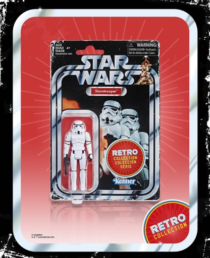 Star Wars Retro Stormtrooper in pck