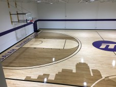 Isaiah Thomas Gym, finished court