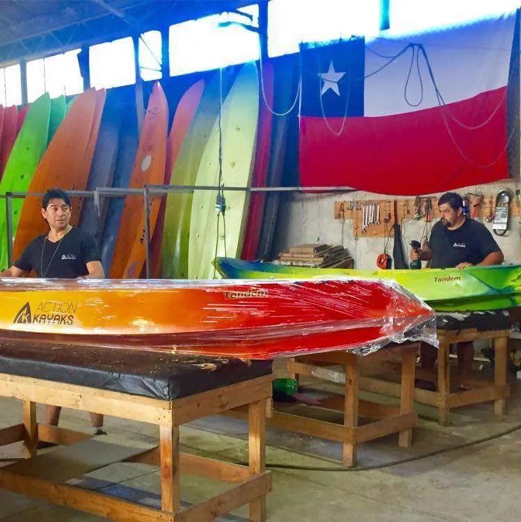 Kayaks chilenos- Action Kayaks