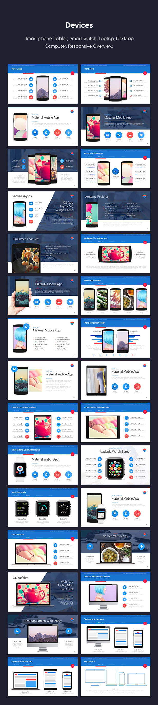 Material PowerPoint Presentation Template - 12