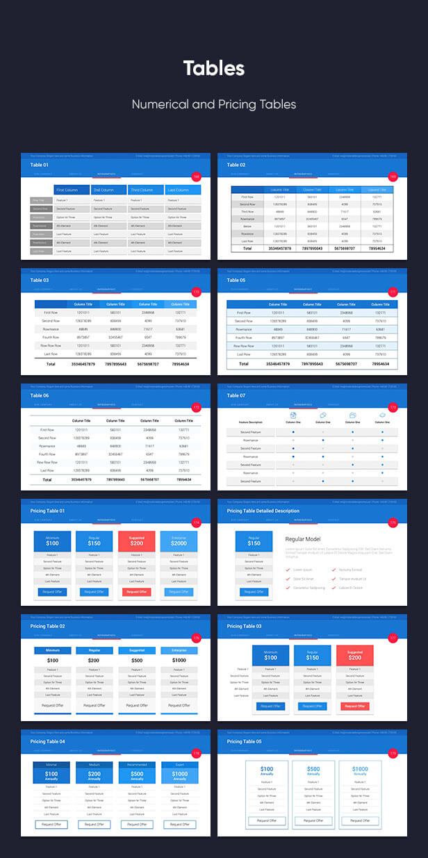 Material PowerPoint Presentation Template - 14
