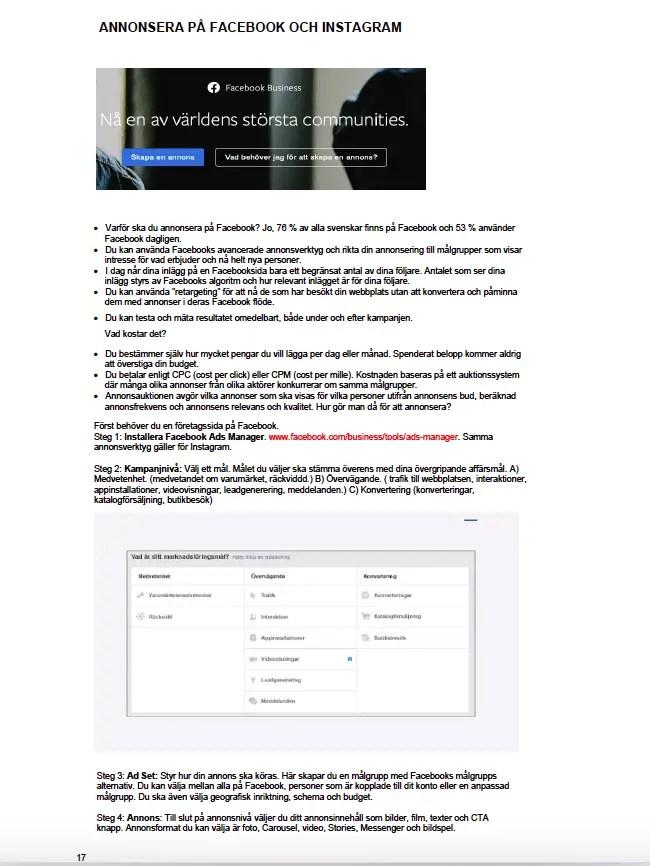 handlingsplan digital marknadsföring