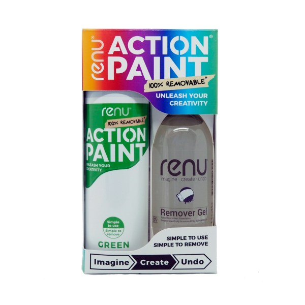 Action Paint Set - Green