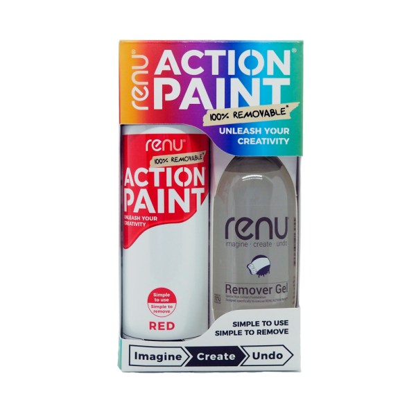 Action Paint Set - Red