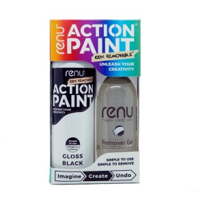 Action Paint Set - Gloss Black
