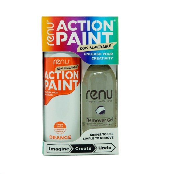 Action Paint Set - Orange