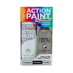 Action Paint Set - Silver