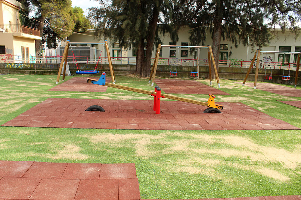 Construction of 2 playgrounds in the Municipality of Agrinio